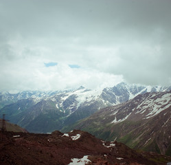 beautiful mountain landscape, Elbrus