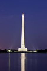San Jacinto Monument  - Night