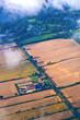 aerial of fields near hamburg