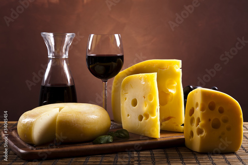 Still-life with cheese