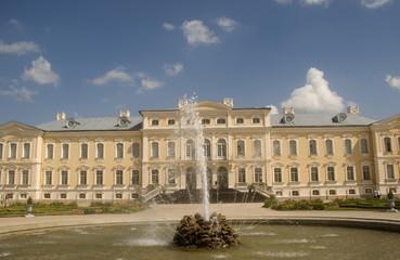 Baroque palace, Pilsrundale, Latvia