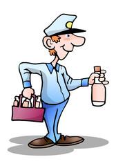 beverage delivery man