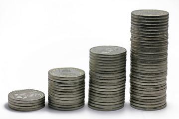 münzensäulen