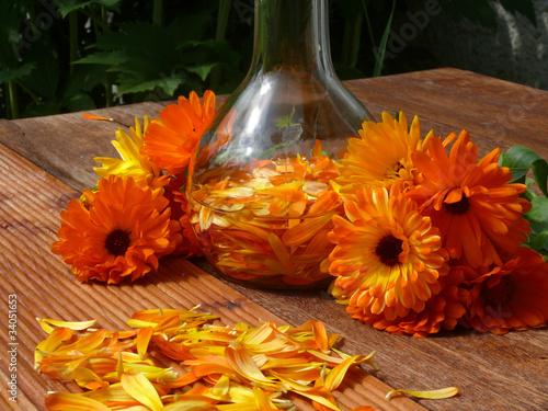 Pflegeölansatz aus Ringelblumen