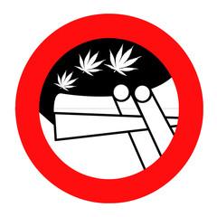 Divieto di fumare spinelli