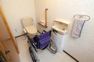 改築した車椅子トイレ