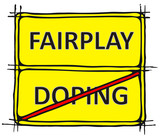 Fairplay, No Doping poster