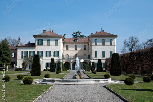 Villa Orrigoni Menafoglio Litta Panza Poster