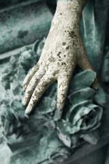 Suchende hand