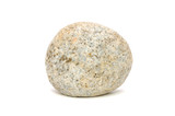 Stone (Granite) Isolated on White Background
