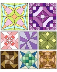 Advanced quilt patterns