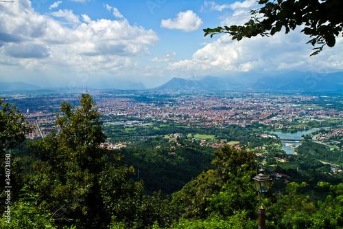 Torino veduta aerea