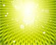 Green shiny background vector