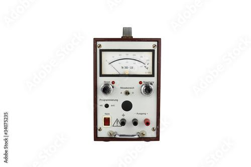 alter elektrischer spannungsmesser