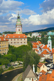 View of the Cesky Krumlov (Czech Republic, Eastern Europe) poster