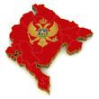 3D Map of Montenegro