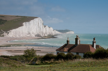Coast Guard Cottages & Seven Sisters , England