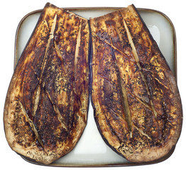 Eggplant Roasted with Thyme