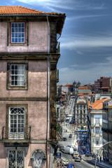 Rua dos Clérigos, Porto, Portugal.