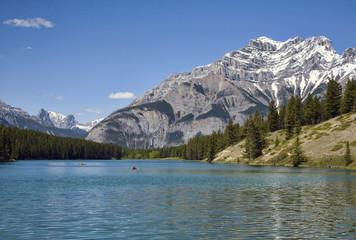 Johnson Lake, Banff, Canada