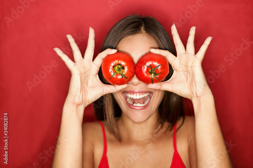 Tomato woman