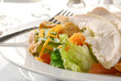 Chef's salad with chicken