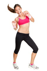 fitness woman dancing