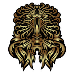 face forest spirit mask