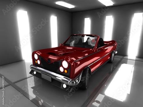samochod-w-garazu