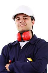 Site manager portrait