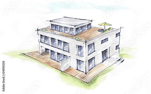 Architekturskizze