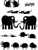 Fototapety Pairs of animals