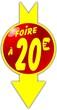 bouton foire à 20 euro