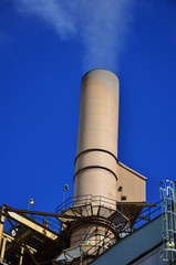 Smokestack of a Coal Power Plant