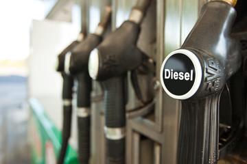 Tankstelle Diesel