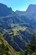 Village enclavé de Ilet à Cordes, Cirque de Cilaos, La Réunion.