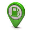 Green fuel icon