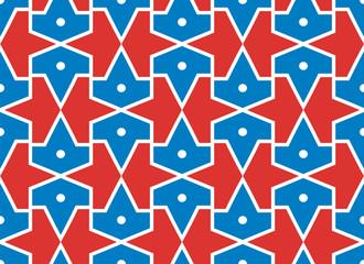 Seamless traditional vector islamic pattern -girih