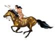 indiano a cavallo