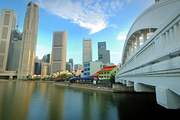 Singapore River and CBD