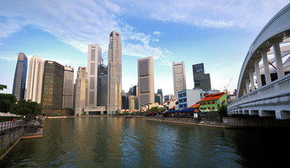 Singapore CBD and the Singapore River