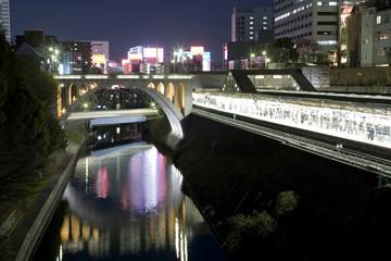 御茶ノ水駅の夜景
