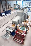 Digital press printing machine