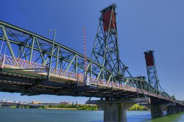 Portland Hawthorne Bridge HDR