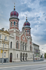 Great and Old Synagogue at Pilsen