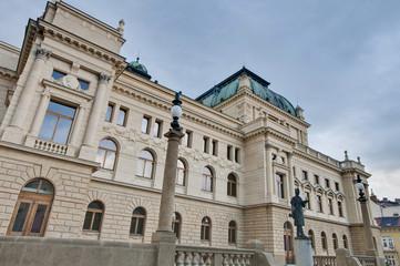 Pilsen Opera house facade