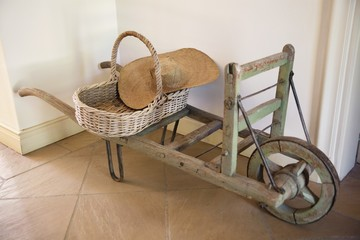 View of hand cart