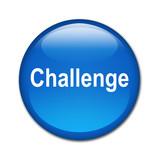 Boton brillante texto Challenge poster