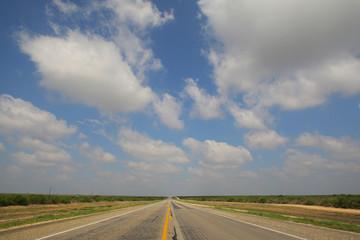 テキサスの1本道