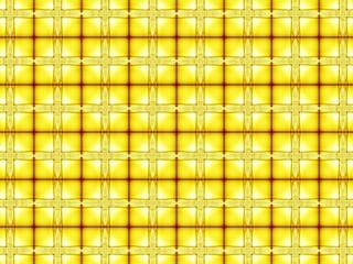 Yellow pattern fractal - wallpaper
